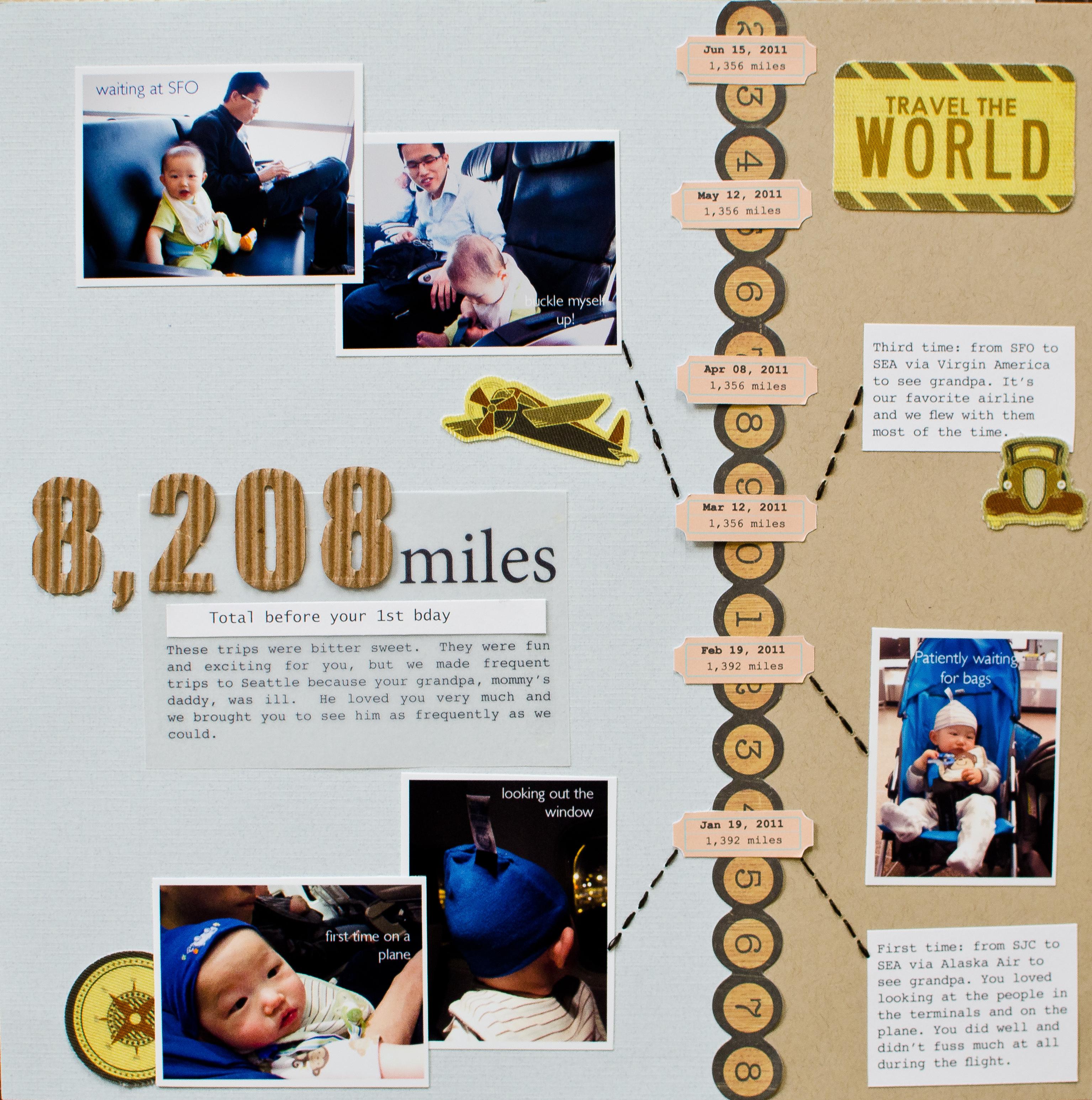8,208 Miles